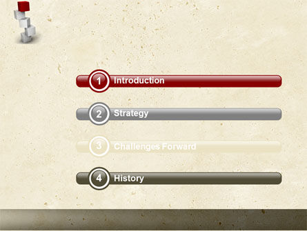 Red Brick PowerPoint Template, Slide 3, 04541, Consulting — PoweredTemplate.com