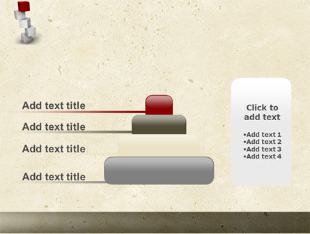 Red Brick PowerPoint Template Slide 8