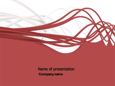 Abstract Swirls PowerPoint Template