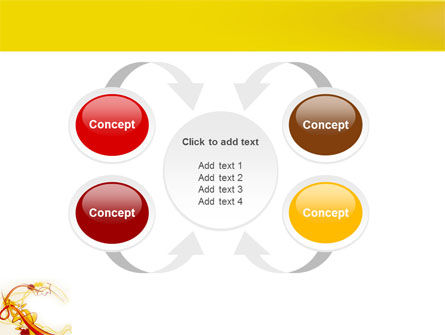 Abstract Graphic Design PowerPoint Template Slide 6