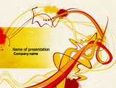 Abstract/Textures: Abstract Graphic Design PowerPoint Template #04544