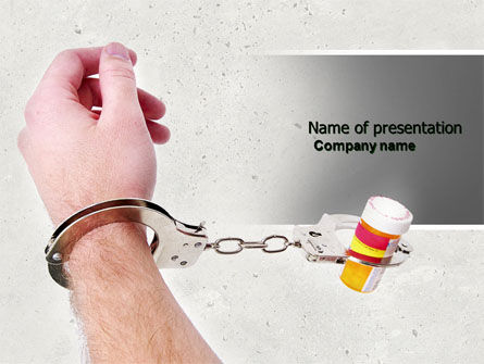 Pharmaceutical Dependency PowerPoint Template