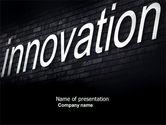 Technology and Science: 파워포인트 템플릿 - 벽면 캡션 혁신 #04549