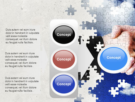 Puzzle Of Partnership PowerPoint Template Slide 11