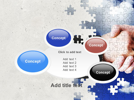 Puzzle Of Partnership PowerPoint Template Slide 16