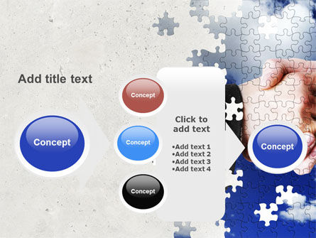 Puzzle Of Partnership PowerPoint Template Slide 17