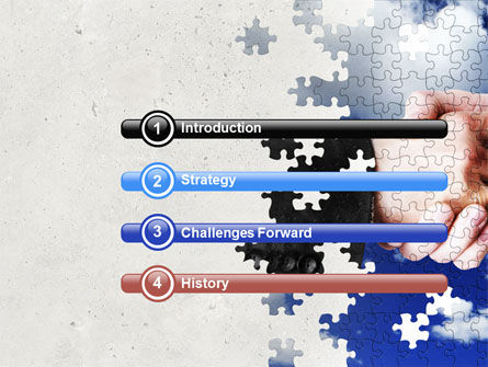 Puzzle Of Partnership PowerPoint Template, Slide 3, 04550, Business — PoweredTemplate.com