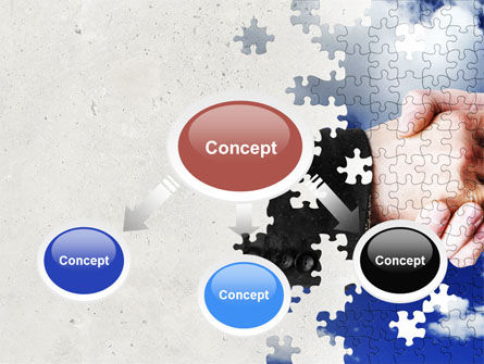 Puzzle Of Partnership PowerPoint Template, Slide 4, 04550, Business — PoweredTemplate.com