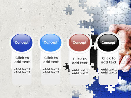 Puzzle Of Partnership PowerPoint Template Slide 5