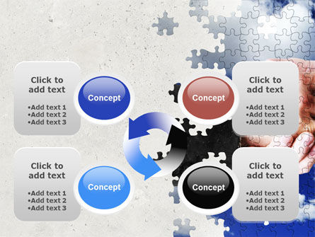 Puzzle Of Partnership PowerPoint Template Slide 9