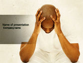 Medical: Thoughtful Mind PowerPoint Template #04554