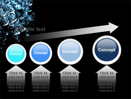 Water Drops PowerPoint Template Slide 13