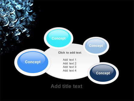 Water Drops PowerPoint Template Slide 16