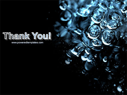 Water Drops PowerPoint Template Slide 20