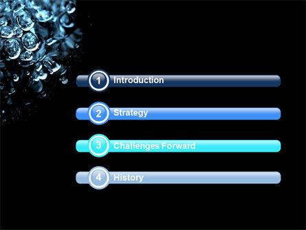 Water Drops PowerPoint Template, Slide 3, 04555, Nature & Environment — PoweredTemplate.com