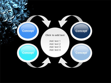 Water Drops PowerPoint Template Slide 6