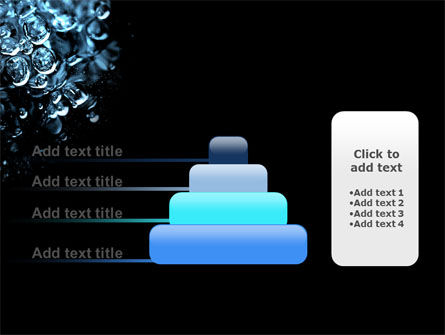 Water Drops PowerPoint Template Slide 8