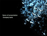 Nature & Environment: Water Drops PowerPoint Template #04555