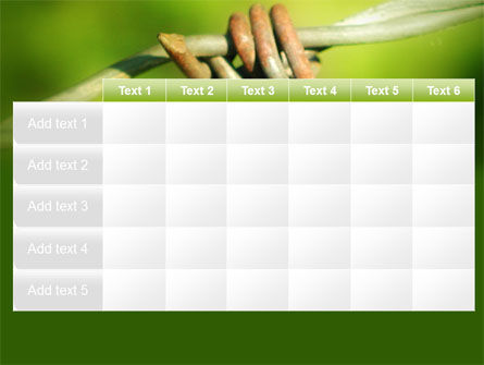 Spiny Wire PowerPoint Template Slide 15