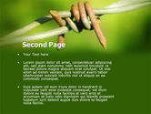 Spiny Wire PowerPoint Template#2