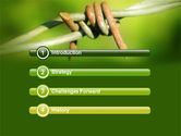 Spiny Wire PowerPoint Template#3