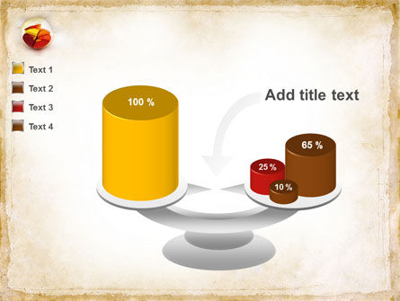 3D Pie Chart PowerPoint Template Slide 10