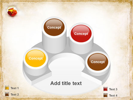 3D Pie Chart PowerPoint Template Slide 12