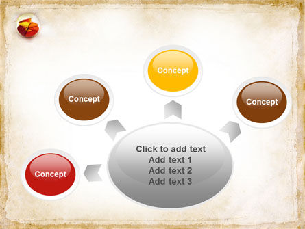 3D Pie Chart PowerPoint Template Slide 7