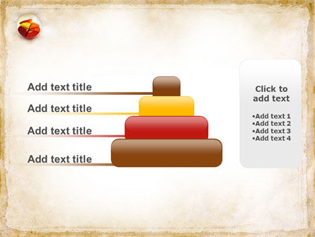 3D Pie Chart PowerPoint Template Slide 8