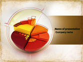 Business: 3D Pie Chart PowerPoint Template #04559