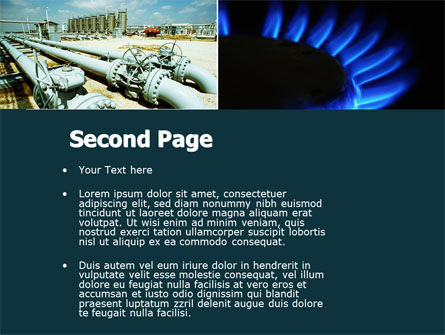 Gas Supply PowerPoint Template, Slide 2, 04560, Utilities/Industrial — PoweredTemplate.com
