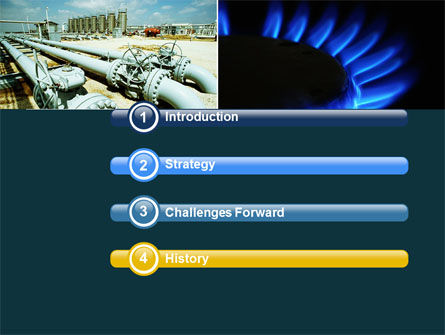 Gas Supply PowerPoint Template, Slide 3, 04560, Utilities/Industrial — PoweredTemplate.com