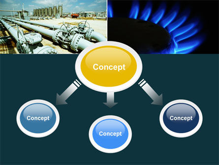 Gas Supply PowerPoint Template, Slide 4, 04560, Utilities/Industrial — PoweredTemplate.com
