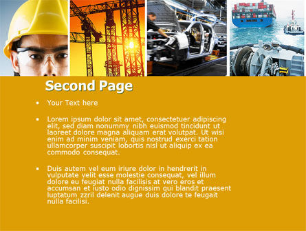 Industry PowerPoint Template, Slide 2, 04562, Utilities/Industrial — PoweredTemplate.com