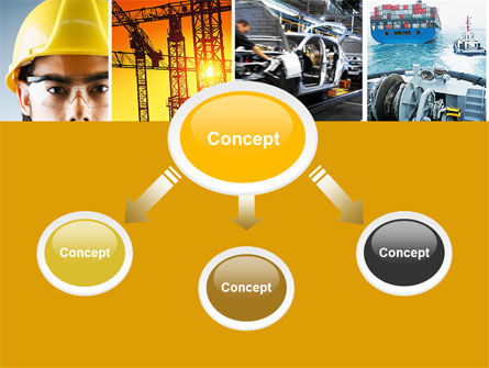 Industry PowerPoint Template, Slide 4, 04562, Utilities/Industrial — PoweredTemplate.com