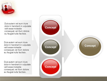Contacts List PowerPoint Template Slide 11