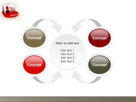 Contacts List PowerPoint Template Slide 6