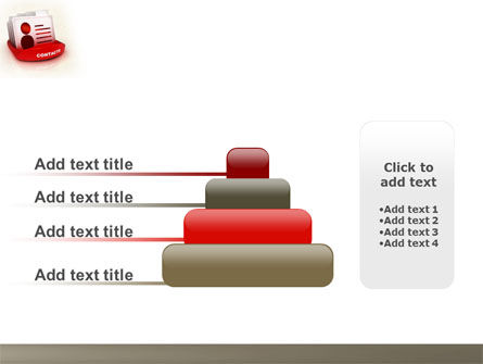 Contacts List PowerPoint Template Slide 8