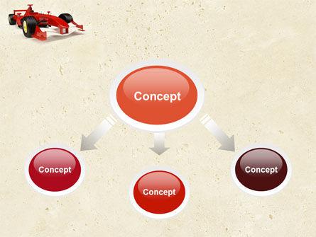 Formula One Car PowerPoint Template, Slide 4, 04571, Sports — PoweredTemplate.com