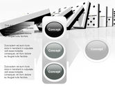 Chain Reaction PowerPoint Template#11