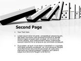 Chain Reaction PowerPoint Template#2