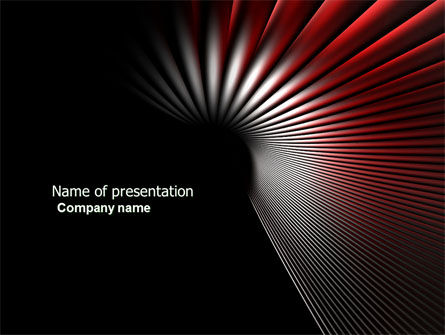 Abstract/Textures: Radial PowerPoint Template #04575