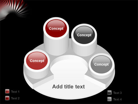 Radial PowerPoint Template Slide 12