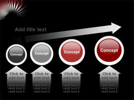 Radial PowerPoint Template Slide 13