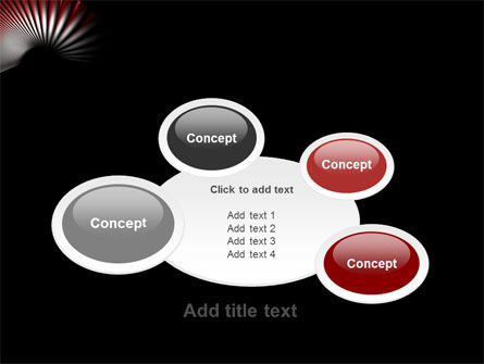 Radial PowerPoint Template Slide 16