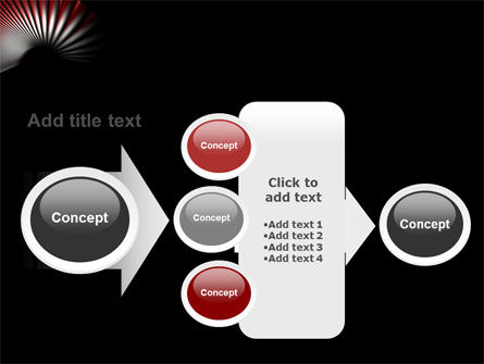 Radial PowerPoint Template Slide 17
