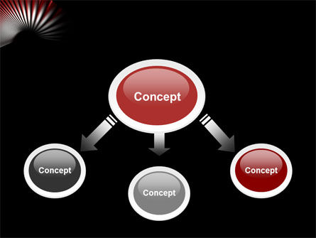 Radial PowerPoint Template Slide 4