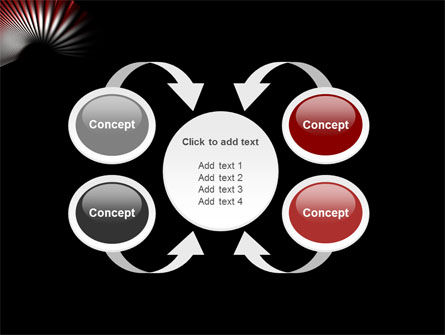 Radial PowerPoint Template Slide 6