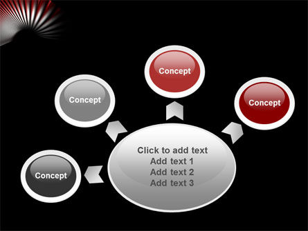 Radial PowerPoint Template Slide 7
