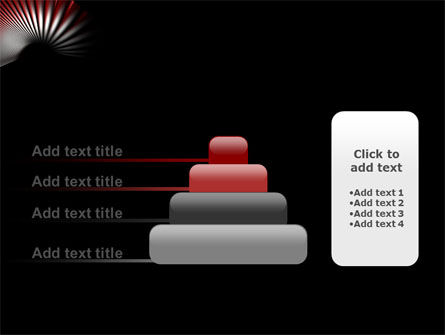 Radial PowerPoint Template Slide 8